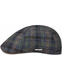 STETSON - Texas Wool Cashmere - INVERNALE - LANA E CASHMERE - SCACCHI BLU E cc57ff5e0e5b