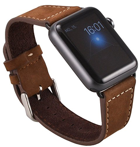 apple-watch-series-1-series-2-edition-genuine-leather-strap-okcs-wristband-suede-replacement-42-mm-i