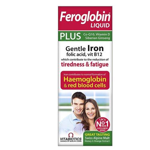 Vitabiotics Feroglobin Plus, 200 ml