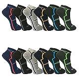 12paia di calze da uomo Sport Tempo libero Sneaker...