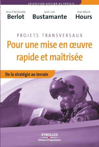 Pour une mise en oeuvre rapide et maitrisée: De la stratégie au terrain par Jean-Christophe Berlot, José-Luis Bustamante, Jean-Marie HOURS