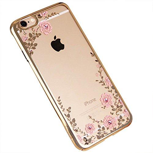 Ultra Dünn [ Passt Perfekt ]Feder Leicht Soft Flex Silikon Hülle Für Apple iPhone Bumper Cover Gold iphone 5s/SE