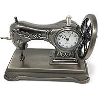 Reloj de mesa en miniatura personaliseitonline grabado gratuito para máquinas de coser