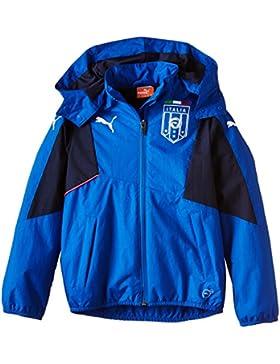 PUMA Kinder Shirt FIGC Italia Stadium Zipthrough Hoody