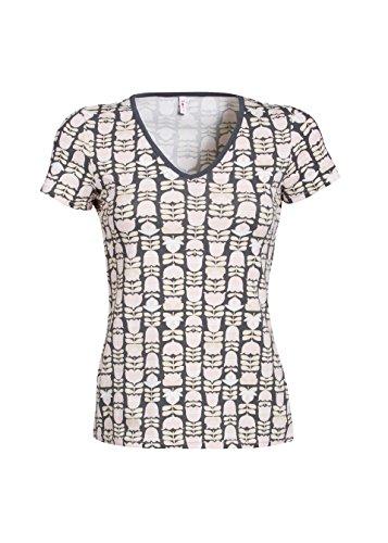 Frauen T-Shirt Blutsgeschwister veranda feger shirt french flowerpot