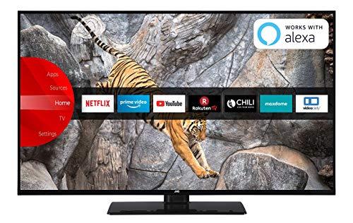JVC LT-43V65LUA 109 cm (43 Zoll) Fernseher (4K Ultra HD, HDR10, Dolby Vision HDR, Triple Tuner, Smart TV, Bluetooth) Jvc Dolby Digital-tv