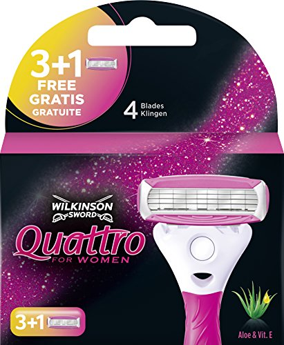 Wilkinson Sword Quattro for Women 3 lamette + 1 lama gratis