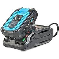 VonHaus20V Max MAX 2.4A Cargador rápido – Compatible con Baterías para Herramientas de la Serie D de Ion de Litio VonHaus 20V – Cargue una Batería de 2.0 Ah en 50 Minutos