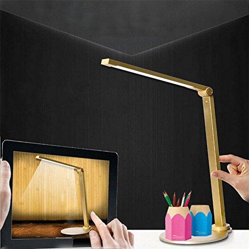 Xh&Yh Ambient Light Modern/Zeitgenössisch Traditionelle/Klassische Schreibtischlampe LED, gold -