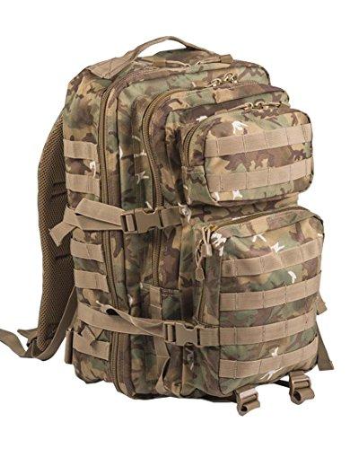 Camouflage Militaire Armée Sac à dos US assault pack 36L MOLLE  ,Arid Woodland ,Large