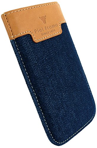 Piel Frama 680COY PIELFRAMA 680COY Pull Case Crocodile für Apple iPhone 6 in gelb denim