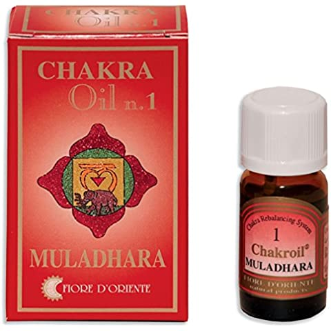 Fiore D 'oriente 1st Chakra Muladhara Oli Essenziali, 10ml, colore: