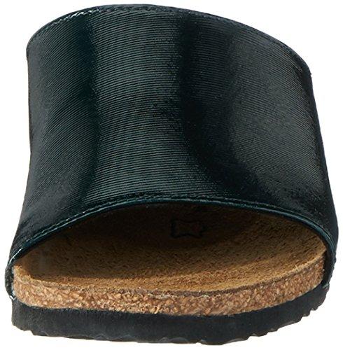 Papillio Amber Textil, Ciabatte Donna Grün (Glossy Dark Green)