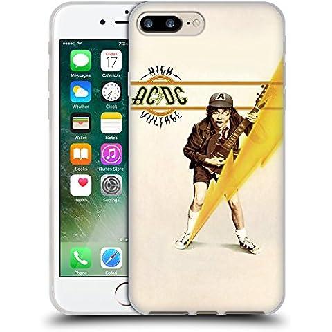 Ufficiale AC/DC ACDC High Voltage Copertina Album Cover Morbida In Gel Per Apple iPhone 7 Plus