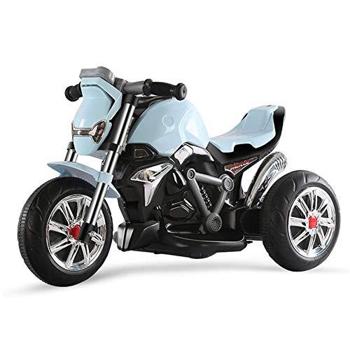 Hejok Twist Car per Bambini, Auto Twist Auto Elettrica per Bambini Batteria per Bambino Auto 3-6 Anni Moto per Bambini Wiggle Gyro Twist Go Kids Ride-On Car, Blue