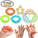 AxeBon 11 PCS Fingertrainer Handtrainer