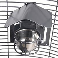 Montana Cages | 4er-Set Feeder Shield (Napfdach) - Small Antik