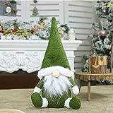 NOENNULL Decoración navideña sin Rostro, figurillas Decorativas navideñas Figuras Sentado...