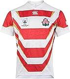 Whinop-x T-Shirt de l'équipe du Japon, Polo, Fans Polo, Coupe du Monde de Rugby 2019, Maillot Polo de Football Japon, Maillots de Compétition, Supporters Homme...