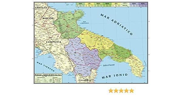 Cartina Stradale Puglia Michelin.Mulinello Difficile Revisione Basilicata Cartina Geografica Amazon Agingtheafricanlion Org