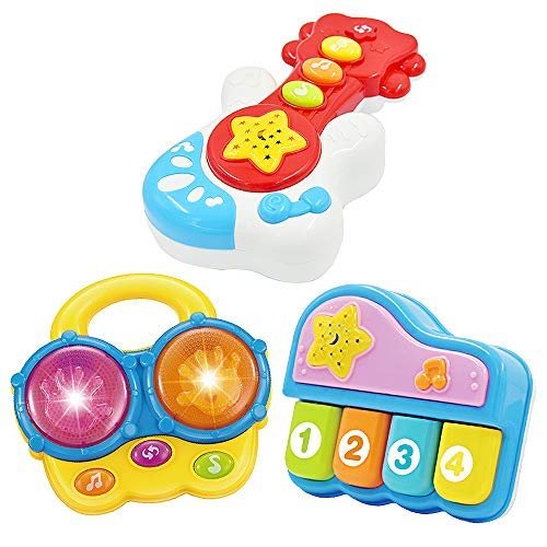 WEofferwhatYOUwant Set 3 Instrumentos Musicales Infantiles ....