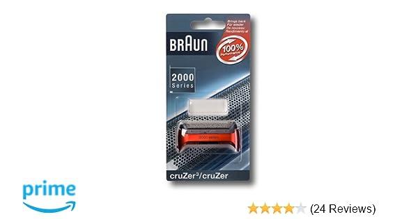 Scherfolie Scherblatt 20S passend für Rasierer von Braun der Series1 Cruzer