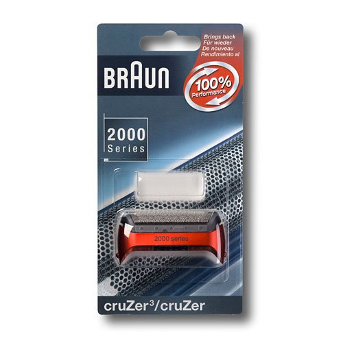 Braun Scherfolie metallic rot CruZer - Serien-ersatz-desktop-pc