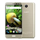 CUBOT Cheetah 2 - Smartphone 4G Android 6.0 ( MT6753, Octa-Core, 1.3GHz 5.5'', 3GB RAM 32GB ROM, 8MP+13MP Camera, Play Store, Dual SIM, Email, OTG) Oro