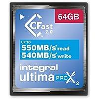 Tarjeta de memoria integral UltimaPro X2, CFast 2,0. 64 GB