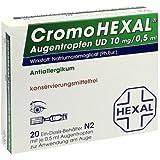 CromoHexal Augentropfen UD, 20 St. Lösung
