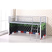 UNDER BED FOOTBALL TENT ONLY, SUITABLE FOR MID SLEEPER, CABIN BED, FUN & COLOURFUL KIDS TENT