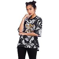 Adidas Farm tee Camiseta, Mujer, (multco), 38