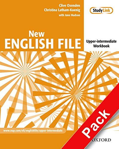 New English File: Upper-Intermediate: Workbook with key and MultiROM Pack: Six-level general English course for adults: Workbook with Answer Booklet and MultiROM Pack Upper-intermediate l par Clive Oxenden, Christina Latham-Koenig