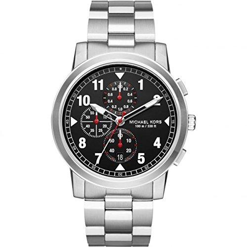 Michael Kors Men's Watch Analogue Quartz Stainless Steel Silver MK8549