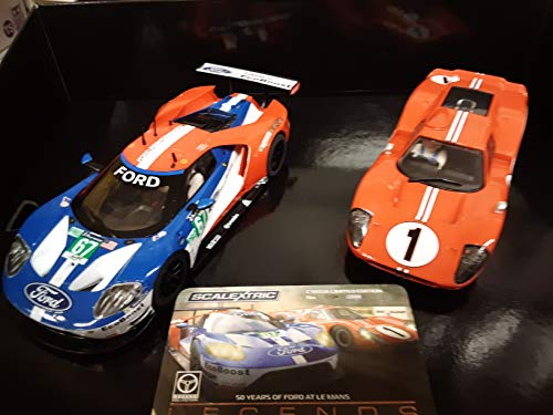 Scalextric C3893A Legends Le Mans 1967-50 Años Ford