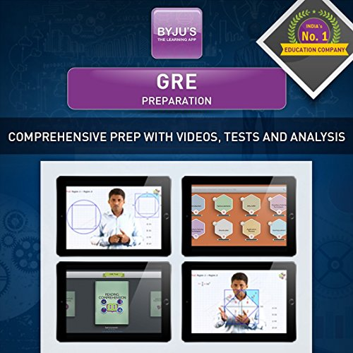 BYJUS GRE Preparation - 3 Months Validity (Tablet)