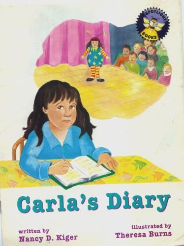 Carla's Diary (Spotlight Books, Spotlight Books) [Taschenbuch] by Nancy D. Kiger