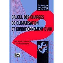 Guide AICVF n°2 : Calcul des charges de climatisat