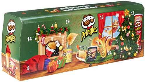 Pringles Chips-Adventskalender Modell Grün