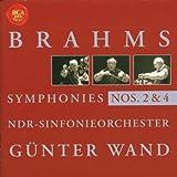 Brahms: Symphonies 2 & 4