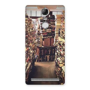 Neo World Book Life Back Case Cover for Vibe K5 Note