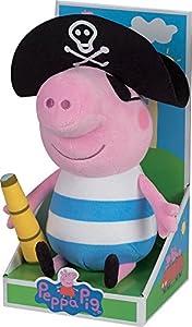 Cijep Jemini - 022994 - Peppa Pig-Peluche de George Pirata (+/-30cm)