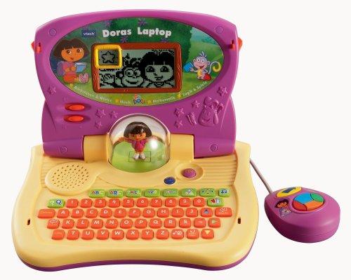 VTech 80-067104 - Lerncomputer  Dora Laptop