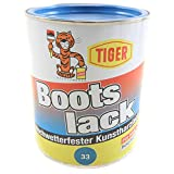 Kunstharzlack Tiger Bootslack hellblau 33 hochlgänzend 1kg