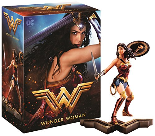 Wonder Woman Edition Collector Amazon - Statue + Steelbook Blu-Ray 3D&2D [Blu-ray]