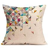 Hunpta Fashion Home Decor Baumwolle Leinen Throw Pillow Case Sofa Taille Kissenhülle (G)