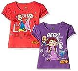 #8: Chhota Bheem Girls' T-Shirt (Pack of 2)