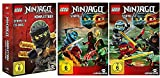 Lego Ninjago Komplettbox Staffel 1-6 + Staffel 7.1+7.2 / DVD Set