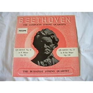 ABL 3165 BUDAPEST STRING QUARTET Beethoven 11/13 LP