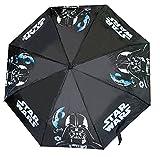 Bellissimo e comodissimo mini ombrello con stampa Star Wars 2, ideale per proteggere il tuo bambino dalla pioggia.